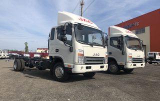 Старт продаж новых модификаций грузовых автомобилей N-серии